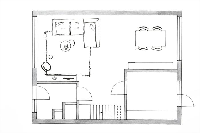 Meubelplan plattegrond interieur online cursus interieur for Huis inrichten op schaal